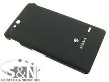 Original Sony Xperia Go ST27i Akkudeckel Cover Gehäuse Deckel schwarz