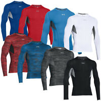 UNDER ARMOUR HEATGEAR COOLSWITCH COMPRESSION LONGSLEEVE SHIRT LANGARM BASELAYER
