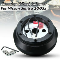 Steering Wheel Quick Release Aluminum Hub Adapter For Nissan Sentra 200Sx Altima