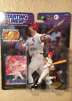2000 SLU STARTING LINEUP MARK McGWIRE 500 HOME RUNS ST. LOUIS CARDINALS