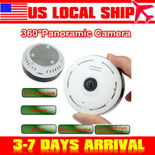 360 Degree Wireless IP Fisheye Camera Two Way Audio P2P 960P HD Wifi Cam US SHIP