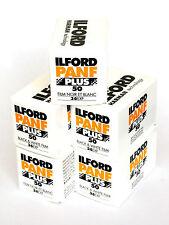 Pellicola 35mm Rullino BN bianco e nero Ilford PanF Plus 50 135-36 5pz.