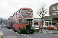 London Transport RT4633 & 3245 Upney Lane Feb 1979 Bus Photo
