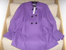 Marks & spencer purple coat size 16 new with tags per una
