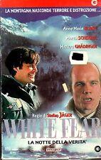 WHITE FEAR  La Notte della Verità (2001) VHS CGG  Stefan Jäger Anne-Marie Blanc