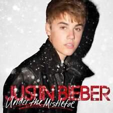 Justin Bieber Under The Mistletoe LP VINYL Island Records 2016 NEW
