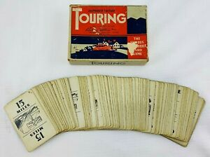 1947 Touring Game by Parker Brothers in Good Condition FREE SHIPPING