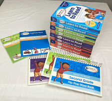 Hooked On Phonics Learn To Read Complete Set PreK-Second *Read*