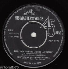 KEN THORNE & HIS ORCH Theme From 'Legion's Last Patrol' / Kisses In The Night 45