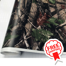 Camouflage Vinyl Car Wrap Film Camo Tree Pattern Decal Adhesive Hood Truck Roof