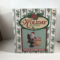 World Bazaars Christmas Santa Claus Ceramic Planter