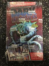 Dark Dominion Zero issue Trading Cards Sealed