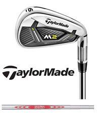 "2017 Taylormade Golf M2 Irons 5-Pw Stiff NS Pro Modus 3 120 1* Up +1"" Long"