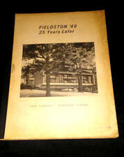 FIELDSTON SCHOOL NYC CLASS OF '49 REUNION BOOK RIVERDALE NEW YORK paperbound