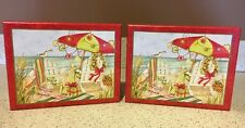 Lang NEW Lot of 2 A Beachy Christmas Boxed Christmas Cards Susan Winget 36 Cards