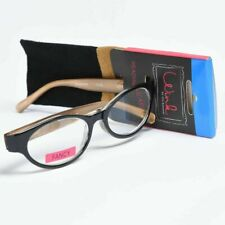 Black and Gold Reading 1.75 Glasses Matching Case ICU Eyewear Readers