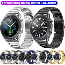 Reloj para Samsung Galaxy 3 41mm 45mm De Acero Inoxidable Pulseras De Banda Correa Muñeca