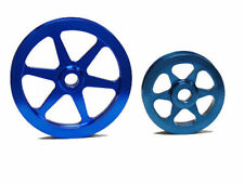 OBX Precision Blue Overdrive Pulley For 96 97 98 99 00 Honda Civic EX Si 1.6L