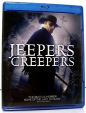 """""""JEEPERS CREEPERS"""" Widescreen Horror BLU RAY 2012 Justin Long, Gina Philips"""