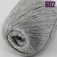 Sale New 1 ball x 50g HIGHT QUALITY 100% Cashmere Wool Hand Knitting Yarn 602
