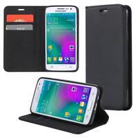 Custodia per Samsung Galaxy Xcover 3 Cover Case Portafoglio Wallet Etui Nero