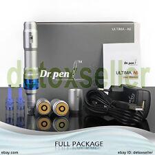 Dr.Pen ULTIMA A6 Electric Derma Pen Auto Micro Needle Anti-Aging +12 NEEDLES AU