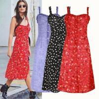 Beautiful Navy Cherry Print Par Wrap Dress Multiple Sizes Realisation Inspo S-L