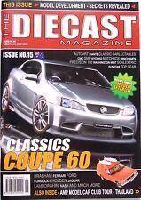 Diecast Magazine #15  Biante Classic Ford Holden Brabham Lamborghini Nash Jaguar