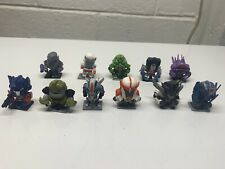 Transformers Thrilling 30 Micro Figure Statues Lot