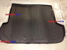 2015-2019 Subaru Outback Rear Cargo Tray / Liner / Black Genuine OEM J501SAL500