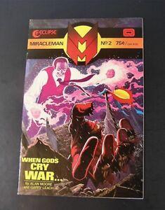 Eclipse Comic MIRACLEMAN #2 , 1978 VF / NM (d)