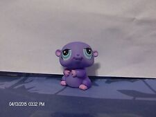Littlest Pet Shop Purple Hamster with Blue Eyes #1349