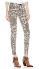 Current Elliott Leopard Skinny Jeans 27 Purchased For $249