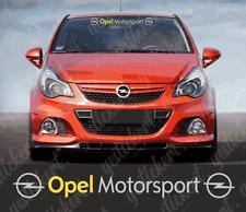 75 cm Opel Motorsport Frontscheiben Aufkleber Sticker Tuning Astra Corsa OPC