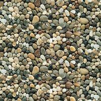 Fabric Pebbles Small Rocks Natural ELIZABETH Cotton 1/4 Yard 291E