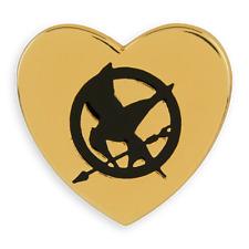 Hunger Games Mockingjay Gold Variety Pin Badge Katniss Arrow Bird Badge Heart