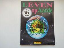 WWF Habiter la Terre - album Panini complet  - néerlandais 1990