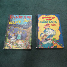 Raggedy Ann and the Golden Ring by Johnny Gruelle 1961,Hardcover + Cookie Land+4