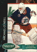 1992-93 Parkhurst Jets Hockey Card #441 Mike O'Neill Rookie