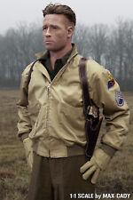 Screen Accurate FURY tanker jacket, Brad Pitt