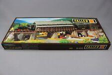 Z302 Faller B-535 maquette Ho pont bois covered wooden bridge überdachte  kit