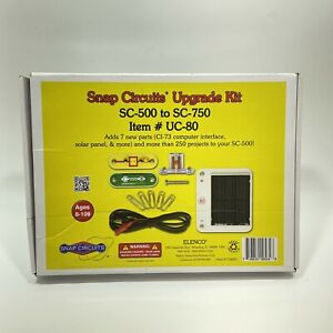 ELENCO SNAP CIRCUITS UC-80 UPGRADE KIT CONVERTS SC500 TO SC750 Ages 8+