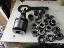 Kennametel Acramil DF45 - AMG - 090M collet chuck with selection of collets