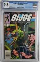🔥 GI JOE #45 CGC 9.6 1ST APP QUICK KICK ALPINE 1986✅ VERIFIED RARE NEWSSTAND