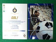 Cartolina INTER BERGOMI , Advertising Pubblicita' Card 15x10,5 cm