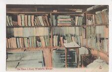 Chain Library Wimborne Minster [JWS C122] Vintage Postcard 782a