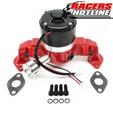 Racers Hotline Chevy 396 - 454 BBC Racing Electric Water Pump - Red