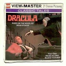 SEALED 1976 vintage GAF view master Classic Tales  DRACULA  reel set !! vampire