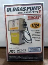 1/24 Scale Resin Old Gas Pump AK DZ002 Single Hose
