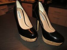 Size 4 (us6) Black patent Platform shoes by STEVE MADDEN